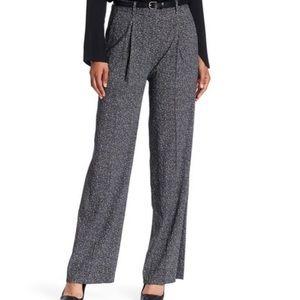 Theory Adamaris High Waist Wide Leg Pants Size 6
